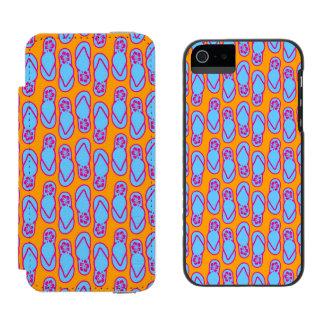 Hawaiansk flinflip flops i blått & orange