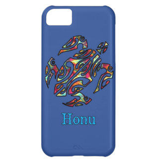 Hawaiansk havssköldpadda för abstrakt regnbåge på iPhone 5C fodral