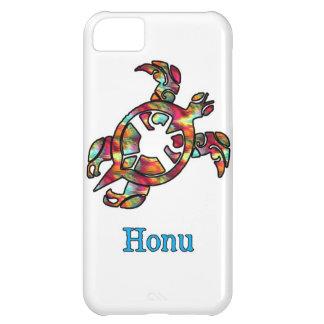 Hawaiansk havssköldpadda för regnbåge på vit iPhone 5C fodral