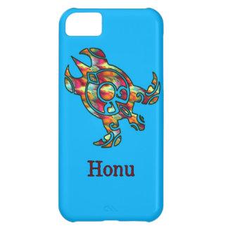 Hawaiansk havssköldpadda för stam- regnbåge iPhone 5C fodral