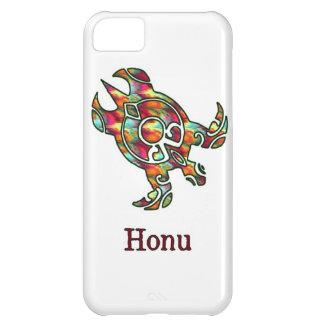 Hawaiansk havssköldpadda för stam- regnbåge på vit iPhone 5C fodral