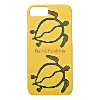 Hawaiansk havssköldpadda guld- Honu