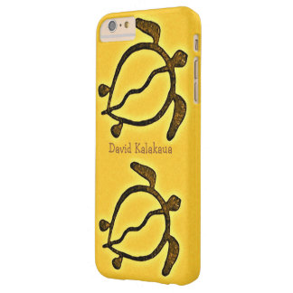 Hawaiansk havssköldpadda guld- Honu Barely There iPhone 6 Plus Fodral