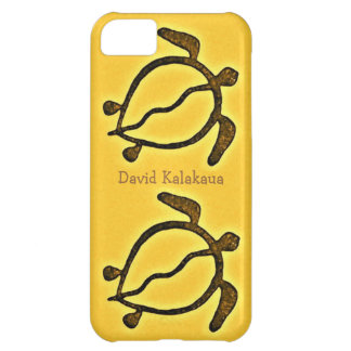 Hawaiansk havssköldpadda guld- Honu iPhone 5C Fodral