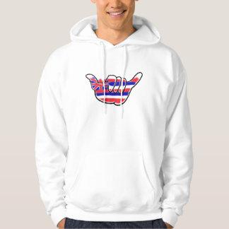 Hawaiansk hoodie för grabbar för
