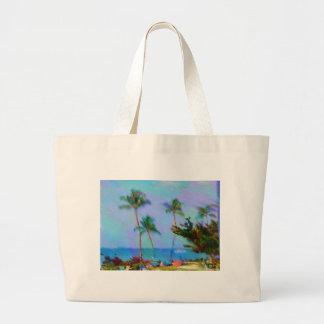 Hawaiansk konst jumbo tygkasse