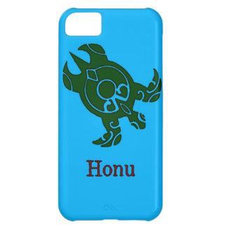 Hawaiansk stam- grön havssköldpadda på havblått iPhone 5C fodral