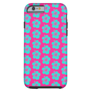 Hawaianskt mobilt fodral för blommaiPhone 6/6s Tough iPhone 6 Case
