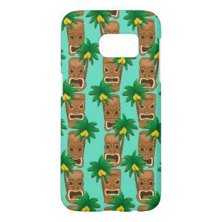 Hawaianskt Tiki repetitionmönster Galaxy S5 Skal