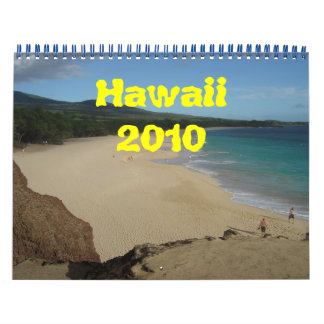 Hawaii 2010 kalender