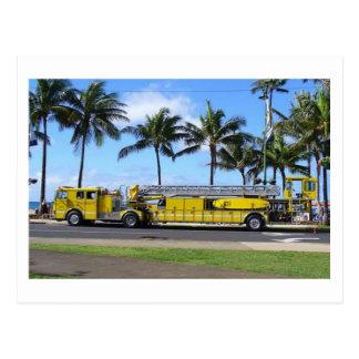 Hawaii avfyrar lastbilvykortet vykort
