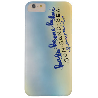 Hawaii för solhavsSand iphone case Barely There iPhone 6 Plus Fodral