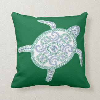 Hawaii grön havssköldpadda kudde