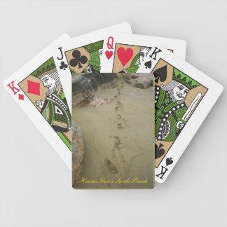 Hawaii grön Sandsstrand Spelkort