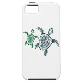 Hawaii gröna havssköldpaddor iPhone 5 Case-Mate skal