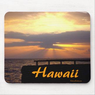 Hawaii horisontsolnedgång musmatta