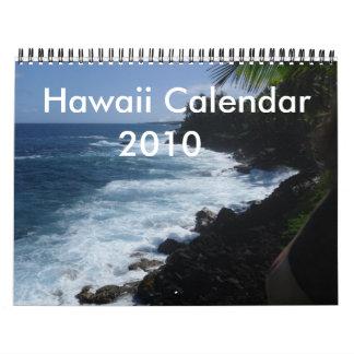 Hawaii kalender 2010