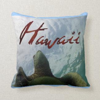 Hawaii kudder den gröna havssköldpaddan kudde