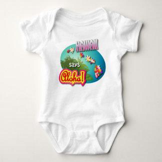 Hawaii något att säga Aloha Tee Shirt