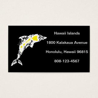 Hawaii öar visitkort