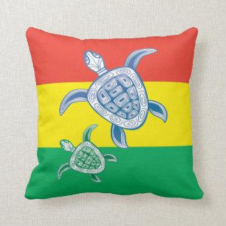 Hawaii sköldpadda kudde