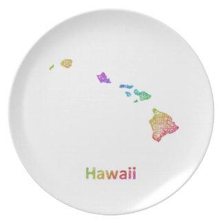 Hawaii Tallrik