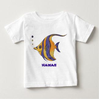 Hawaii tropisk fiskskjorta t shirts