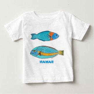 Hawaii tropisk fiskskjorta tee shirts