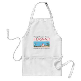 Hawaii vid Harrop-T-b Förkläde