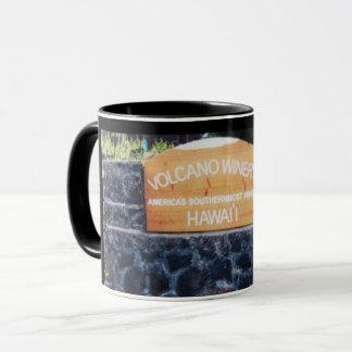 Hawaii vulkanvinodling mugg