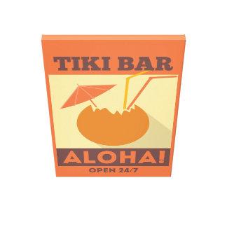 HawaiiboAloha Tiki pub Canvastryck