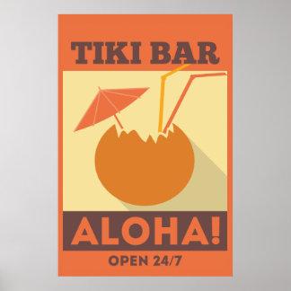 HawaiiboAloha Tiki pub Poster