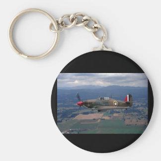 Hawker orkan, flyg 1943_Classic Rund Nyckelring