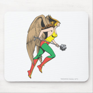 Hawkwoman profilerar musmatta