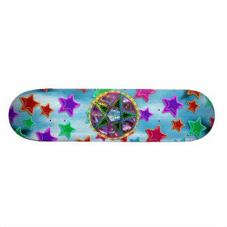 HäxaPentagram Skateboard Bräda 21,5 Cm