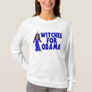 Häxor för Obama roligt Halloween T-shirts