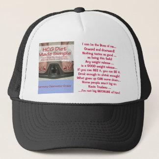 HCG bantar den gjorda enkla hatten Truckerkeps