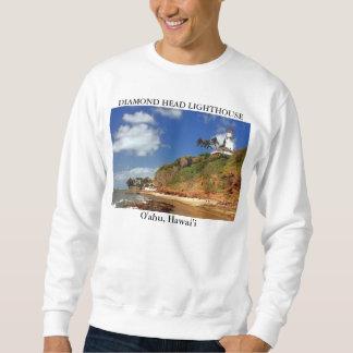 Head fyr för diamant, O'ahu Hawai'i Sweatshirt