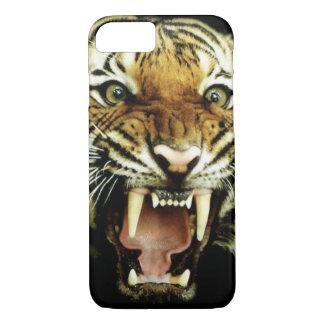 Head iphone case för tiger