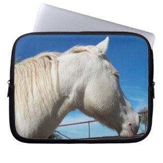 Head laptop sleeve för häst
