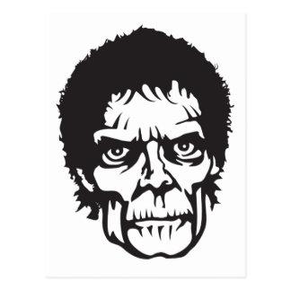 Head logotyp för Zombie Vykort