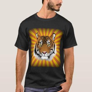 Head T-tröja för tiger T Shirts