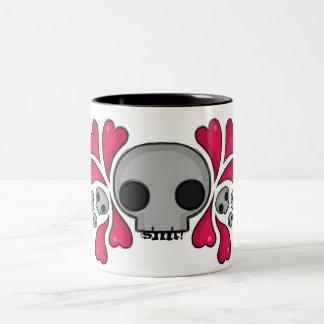 Hearts&Skulls mugg