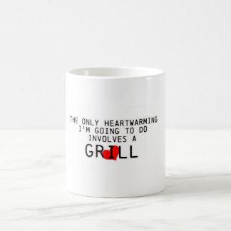 Heartwarming grilla kaffemugg