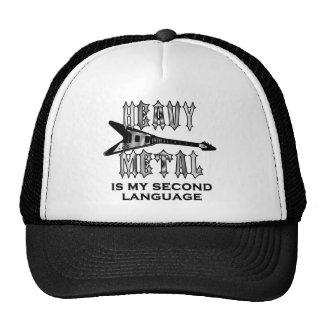 Heavy metal är min understöder språk keps