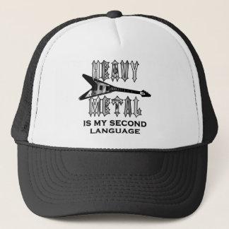 Heavy metal är min understöder språk truckerkeps