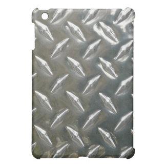Heavy metal - en stor bit av Checkerplate iPad Mini Fodral