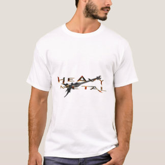 Heavy metal tee shirts