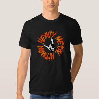 Heavy metalhitmanen flammar skjortan tee