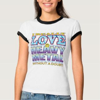 Heavy metalkärlekansikte t-shirts